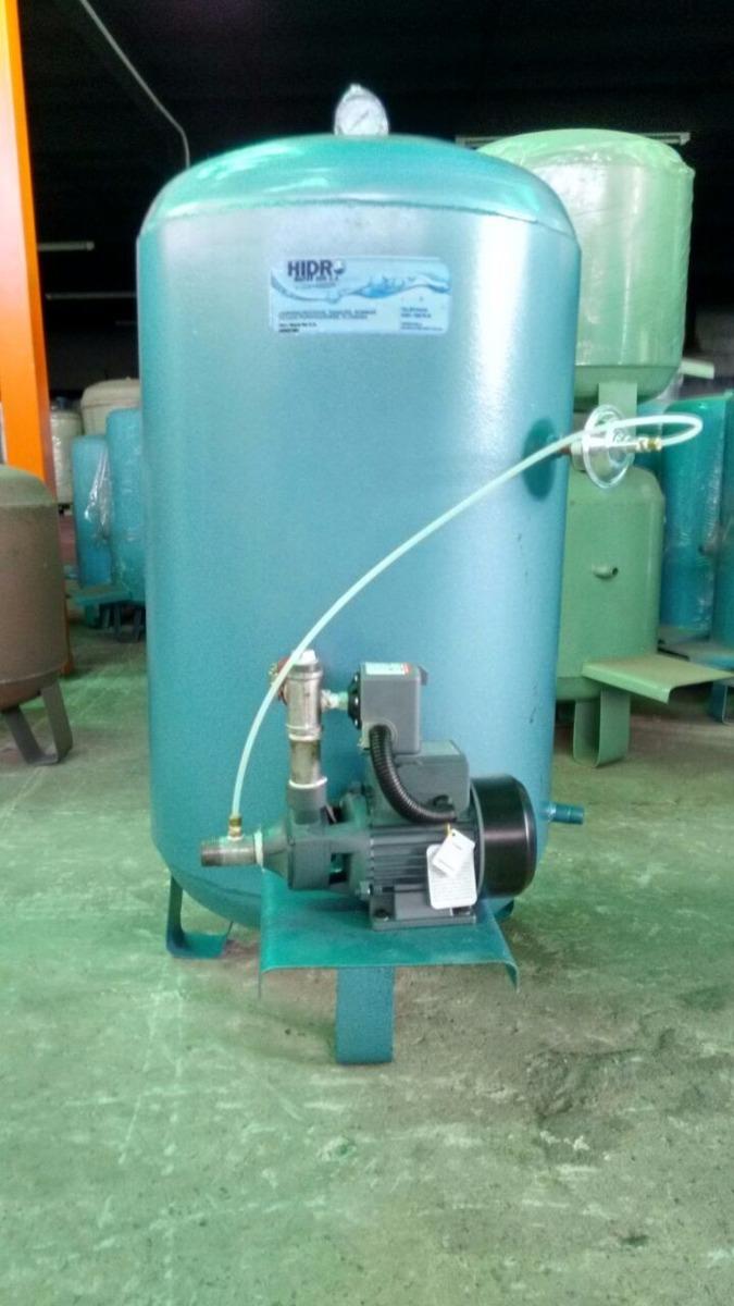Sistema Hidroneumatico 80 Galones Con Bomba 1 Hp Shimge