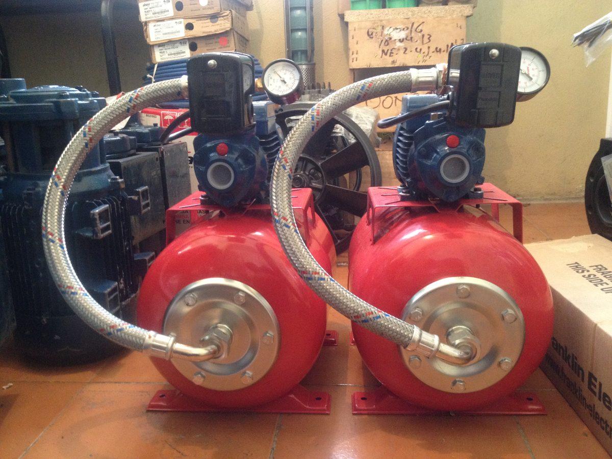 Sistema Hidroneumatico Pedrollo Pulmon De 24 Litros Italy