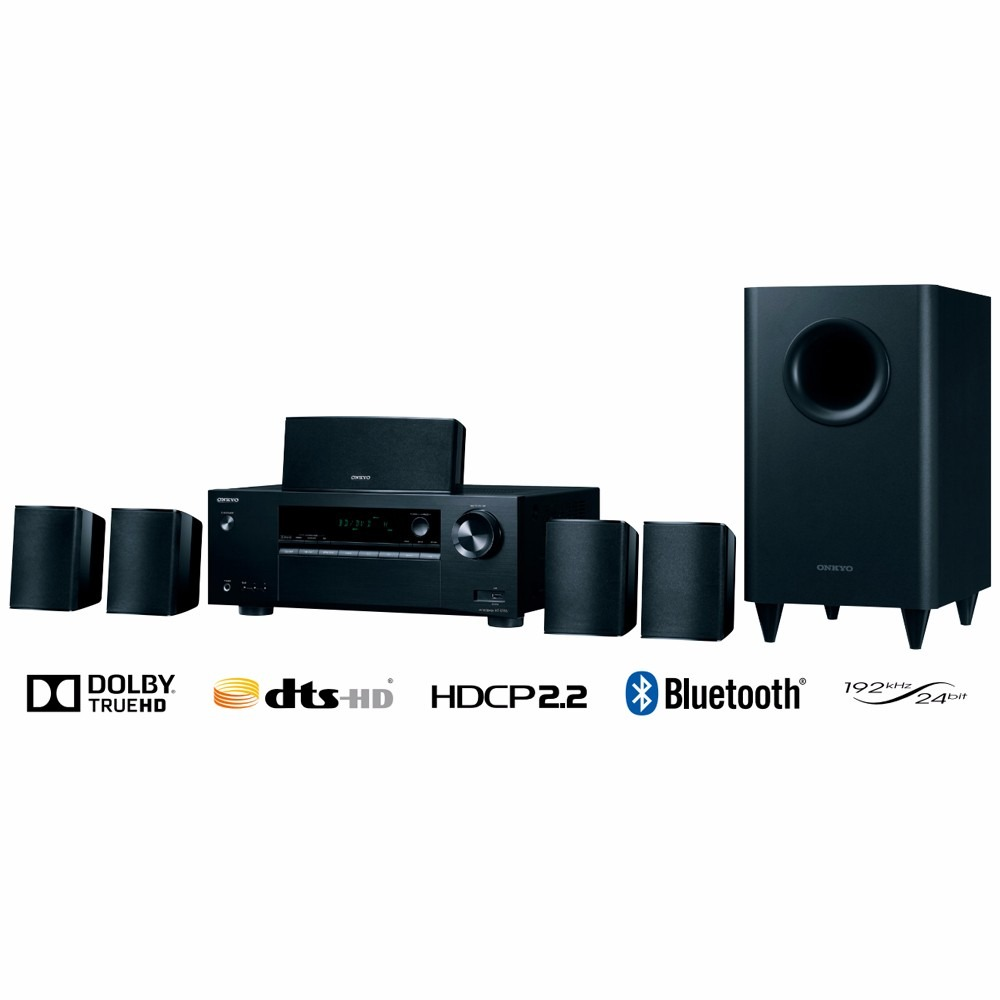 Sistema home theater 5 1 onkyo ht s3800 4k bluetooth - Home cinema bluetooth ...