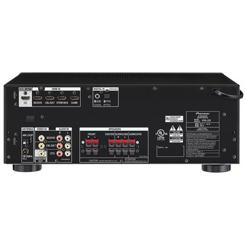 sistema in box 5.1 pioneer con receiver 4k hdr/bt htp-074