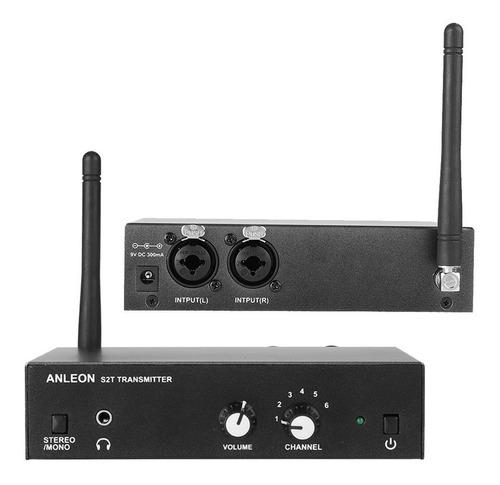 sistema inalambrico anleon s2 kit monitoreo in ear palermo