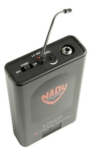 sistema inalámbrico de auriculares nady u-41 quad hm20u