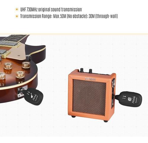 sistema inalmbrico de guitarra uhf muslady