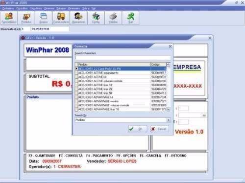 sistema integrado para farmácia em geral + fontes delphi