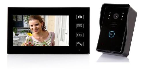 sistema intercomunicador con pantalla y timbre docooler
