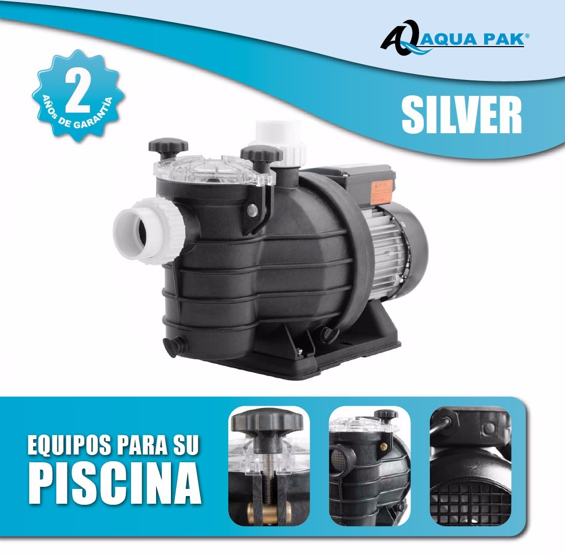 Sistema kit filtrado albercas piscinas bomba filtro timer for Piscina 50000 litros