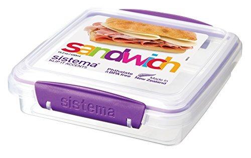 sistema klip itacentos colección sandwich box almacenamien