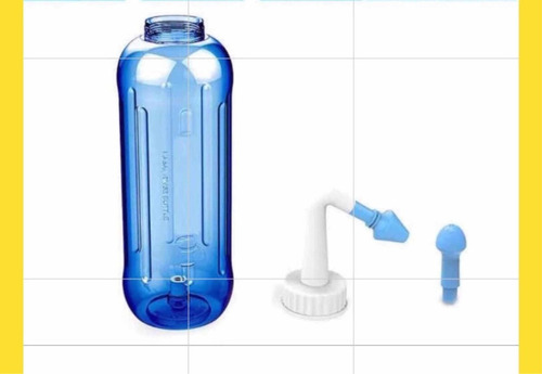 sistema lavado nasal 300 ml sinusitis alergias alergia rini