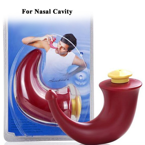 sistema lavado nasal enjuague nasal 1pc yoga neti pot seno