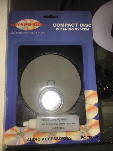 sistema limpiador de cd pc-7063a miyako usa