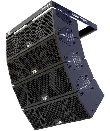 sistema line array ativo 6 pol mark audio 2000w rms loja