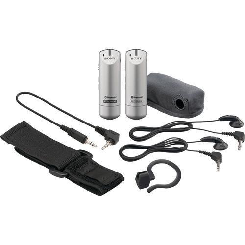 sistema microfono inalambrico bluetooth sony ecm-aw3 vbf