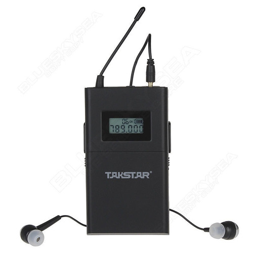 sistema monitoreo takstar con 5 radios