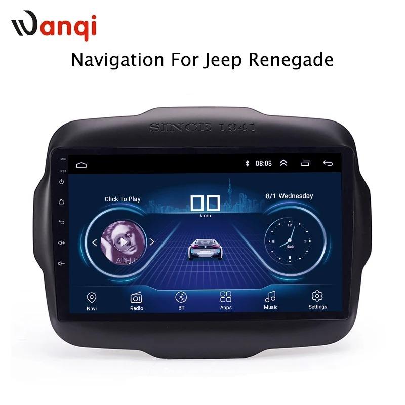Sistema Multimedia Android Para Jeep Renegade Sport!!