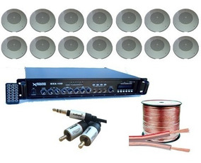 Sistema Musica Funcional 70v Kit Comercial Salones Caballito