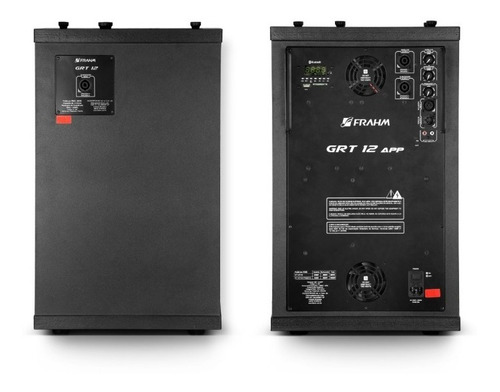 sistema pa caixa ativa e passiva frahm grt-12 torre