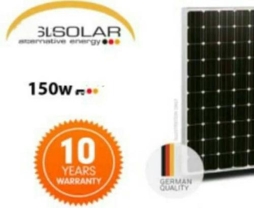 sistema panel solar alemana de 150w, bateria americana 100a