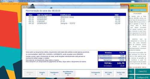 sistema para emissão de nfc-e/nf-e
