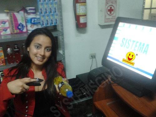 sistema para farmacia lote fecha vencimiento factura boleta