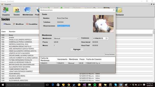 sistema para gimnasio   registro con huella   código 1.7