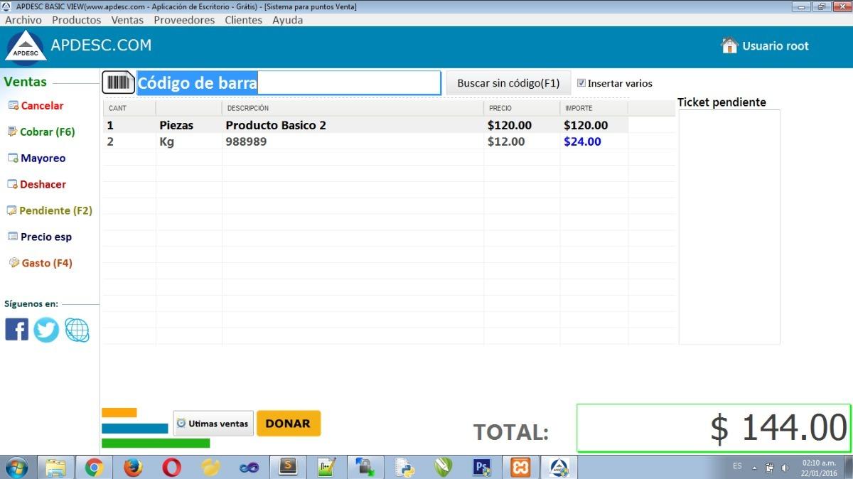 60de72c9980 Sistema Para Puntos De Venta Para Personalizar - $ 499.00 en Mercado ...