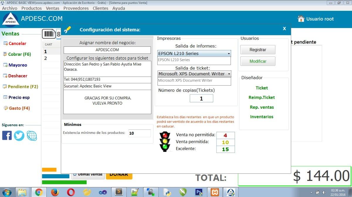 e2cad0cf30d Sistema Para Puntos De Venta Para Personalizar - $ 499.00 en Mercado ...