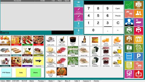sistema para restaurantes, bar o cafeteria + licencia