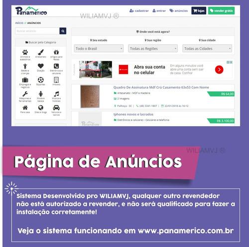 sistema para site classificados melhor que olx - promoção