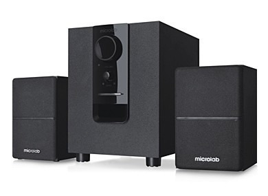 sistema parlantes subwoofer 2.1 microlab m106 10w sonido