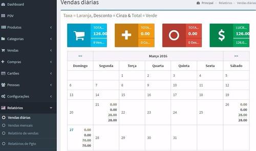 sistema pdv controle estoque financeiro vendas php atual