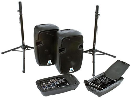 sistema portatil de publidifusion de 2.000 watts.  baf - 515