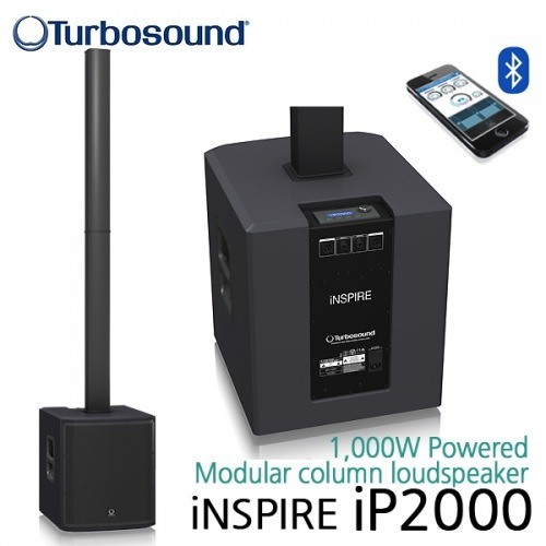 sistema portatil ip2000 turbosound