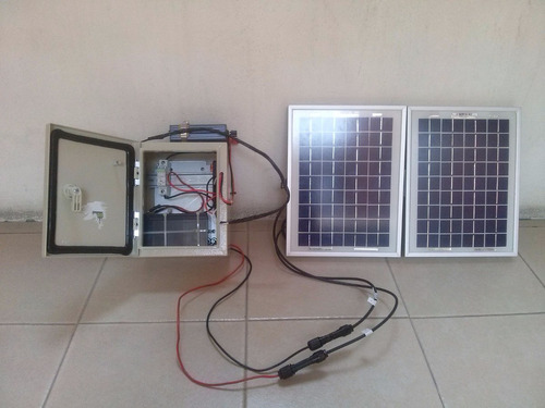 sistema portatil solar fotovoltaico para usos múltiples