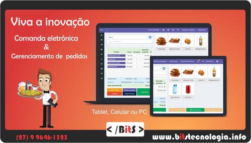 sistema pos - pedidos pelo celular pc ou tablet