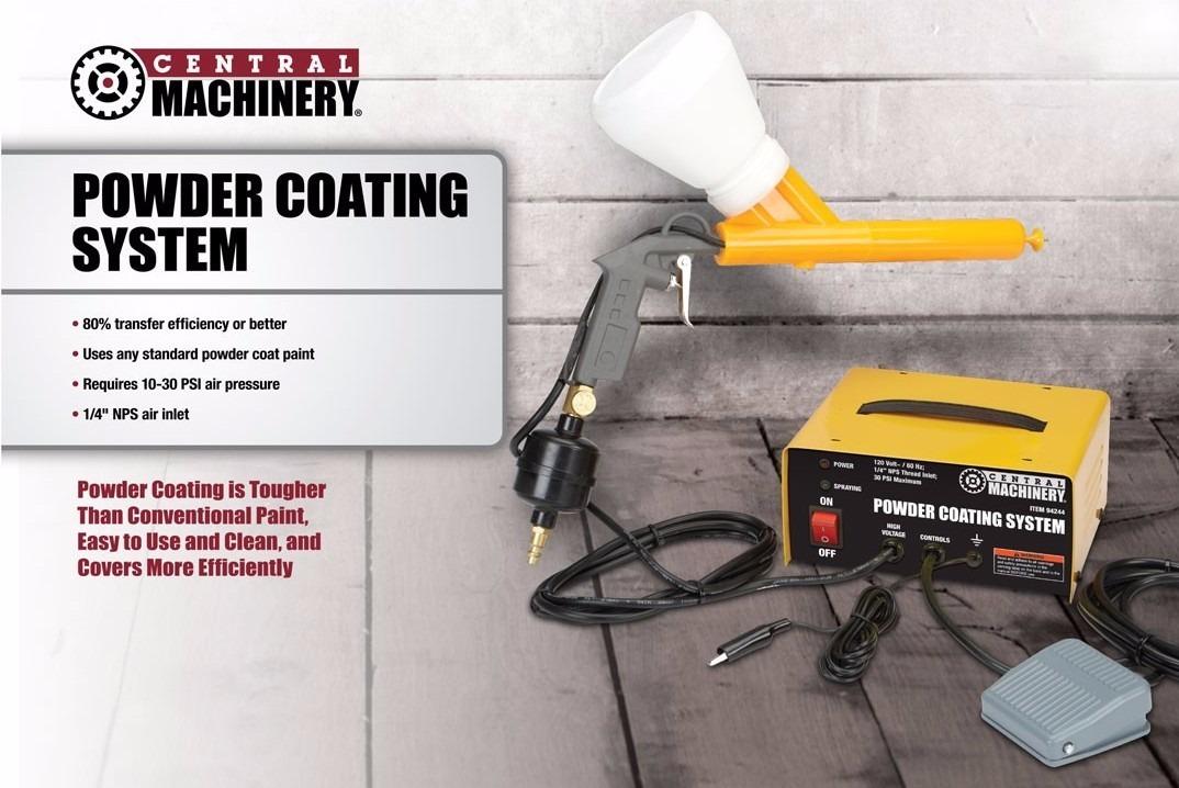 Sistema Powder Coating Maquina Pintura Electrostatica Polvo ...