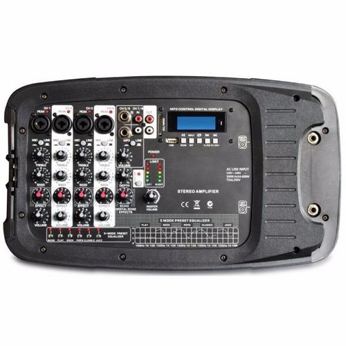 sistema profesional de audio skytec pss300 10 usb/mp3/sd