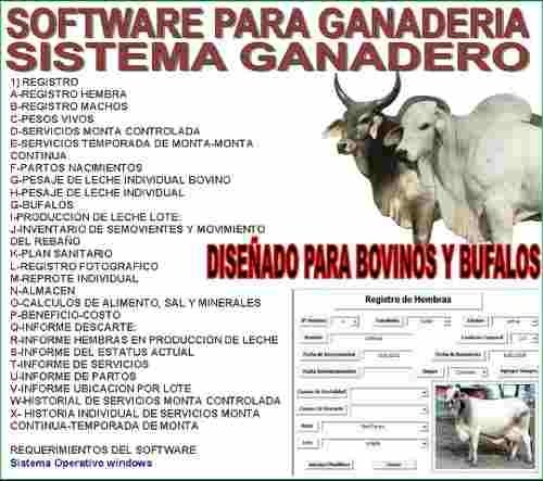 sistema programa para ganaderia.