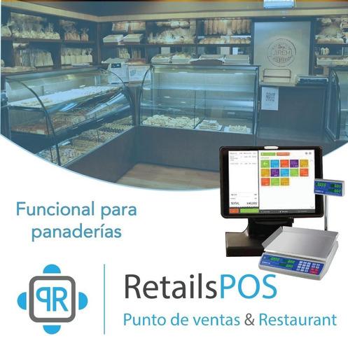 sistema  punto de venta, mini mark, panaderia y restaurante