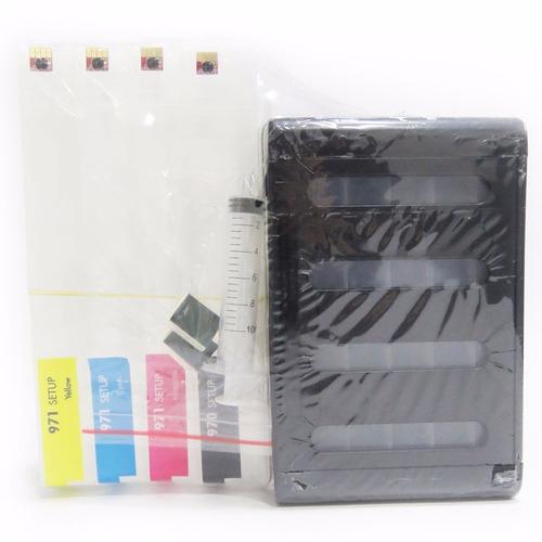 sistema recarga de tinta lleno sin instalar par hp x476dw