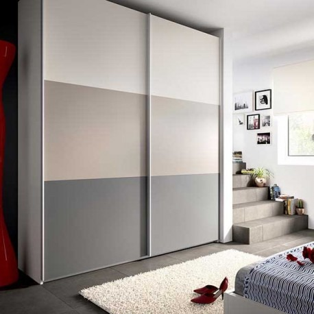 Sistema rodamiento al piso para puerta closets d52 ducasse for Armario blanco puertas correderas ikea