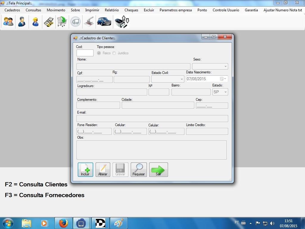 Sistema, Software Auto Center, Oficina Mecanica, Auto Peças - R$ 650 ...