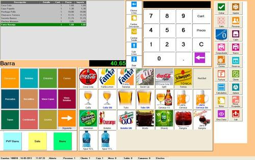 sistema software gestion restaurant cafeteria heladeria bar