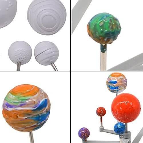 sistema solar colorear y armar