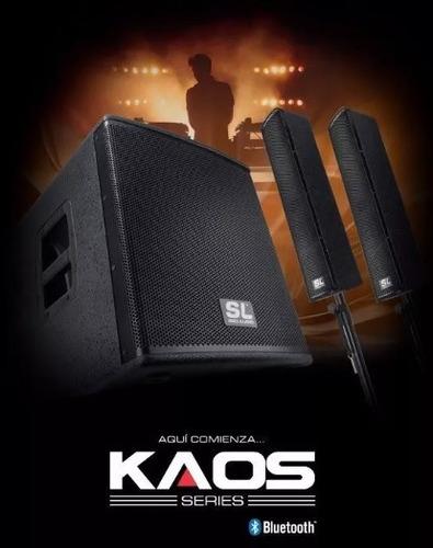 sistema sonido amplificado mega kaos sl proaudio