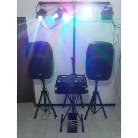 Sistema Sonido Profesional Dj Cornetas Amplificadas