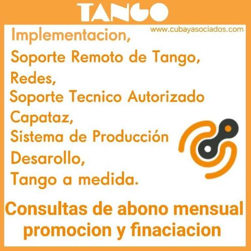 sistema tango gestión soporte técnico