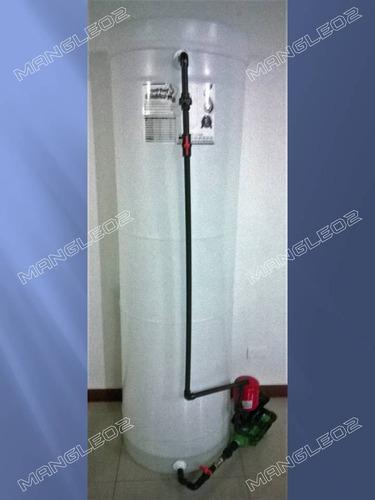 sistema tanque agua cilindrico apartamento armados y listos