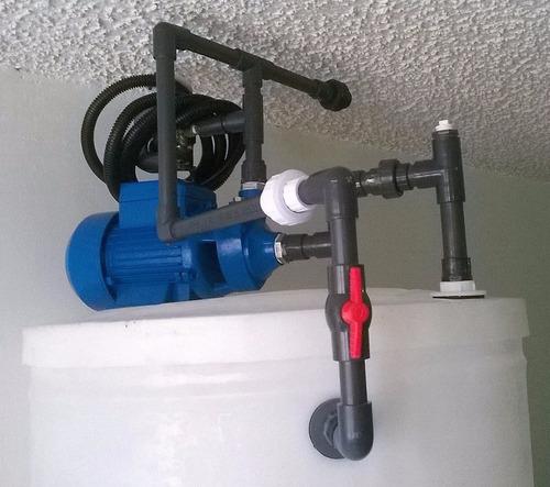 sistema tanque agua cilíndrico apartamentos armados y listos