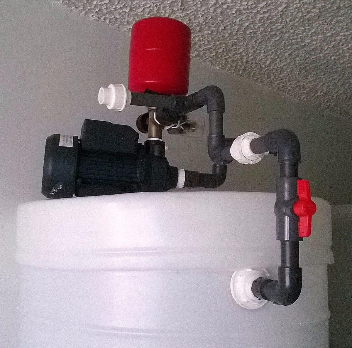 Sistema tanque agua cil ndrico apartamentos armados y - Mangueras de agua ...