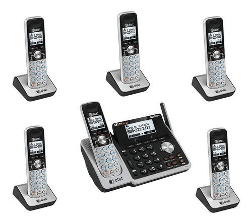sistema telefónico dect at&t tl88102 séxtuple
